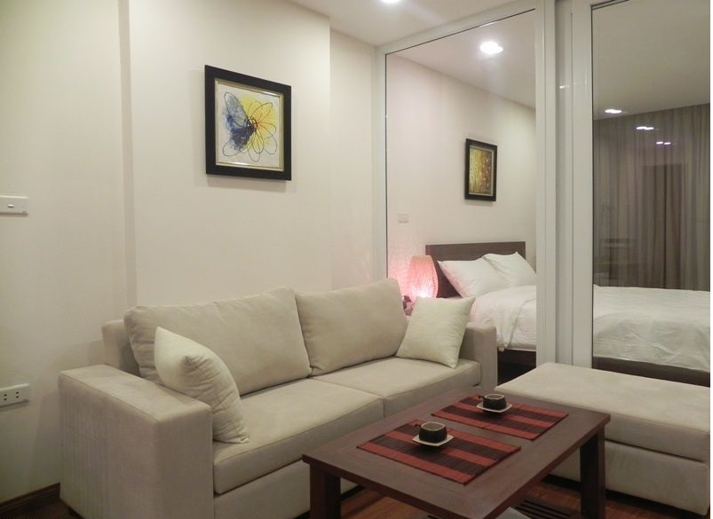 Serviced apartment for rent in Tran Quy Kien str, Cau Giay district, Hanoi