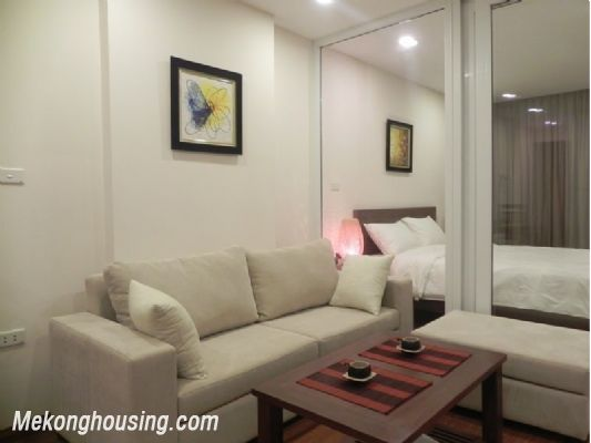 Serviced apartment for rent in Tran Quy Kien str, Cau Giay district, Hanoi 1