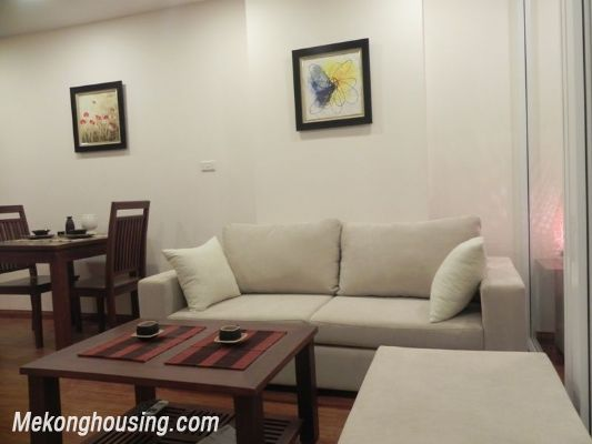 Serviced apartment for rent in Tran Quy Kien str, Cau Giay district, Hanoi 2