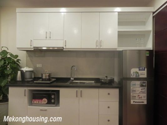 Serviced apartment for rent in Tran Quy Kien str, Cau Giay district, Hanoi 5
