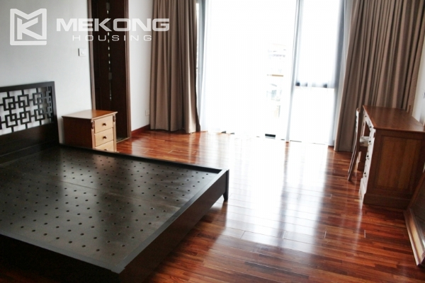 Serviced apartment with lake view and 3 bedrooms for rent in Tay Ho 8