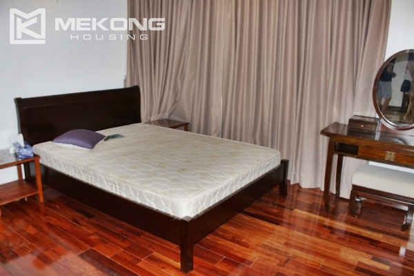 Serviced apartment with lake view and 3 bedrooms for rent in Tay Ho 9