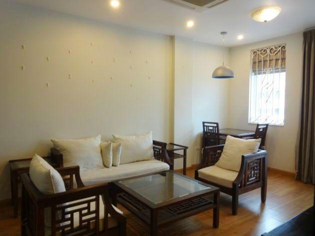 Serviced apartment with one bedroom for rent in Ba Dinh district, Hanoi
