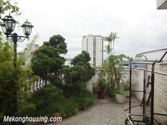 Serviced apartment with one bedroom for rent in Ba Dinh district, Hanoi 1