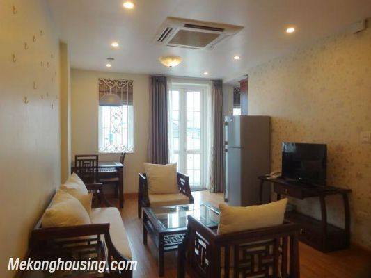 Serviced apartment with one bedroom for rent in Ba Dinh district, Hanoi 4