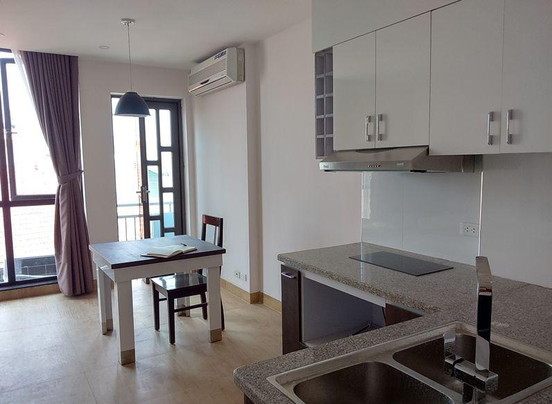 Serviced apartment with one bedroom for rent in Doi Can street, Ba Dinh, Hanoi