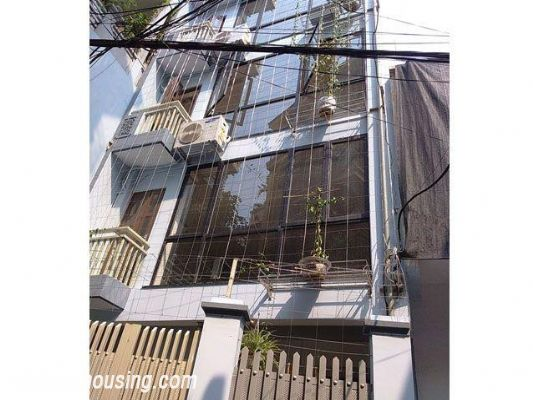 Serviced apartment with one bedroom for rent in Doi Can street, Ba Dinh, Hanoi 1