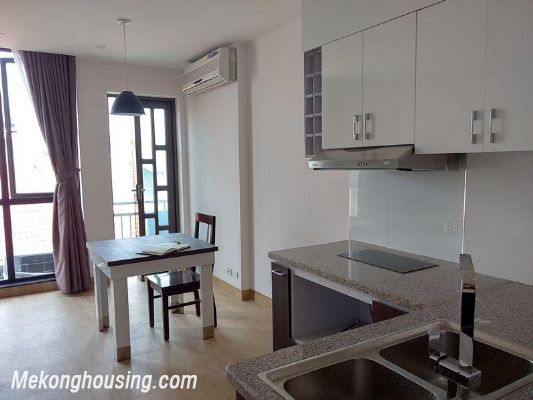 Serviced apartment with one bedroom for rent in Doi Can street, Ba Dinh, Hanoi 3