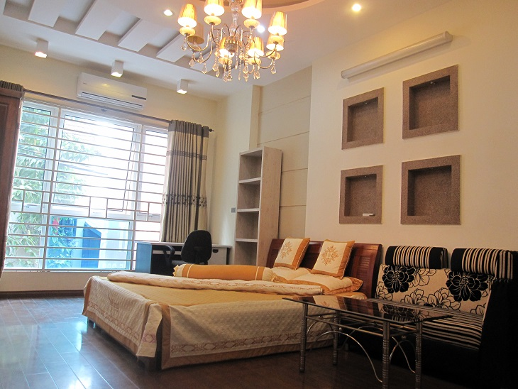 Serviced apartment with one bedroom for rent in Quan Ngua, Ba Dinh, Hanoi