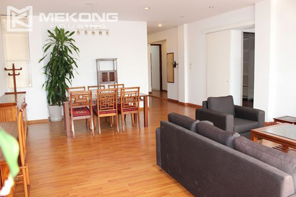Spacious 2 bedroom apartment with Truc Bach lake view for rent 3
