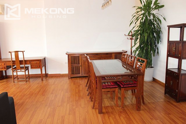 Spacious 2 bedroom apartment with Truc Bach lake view for rent 5