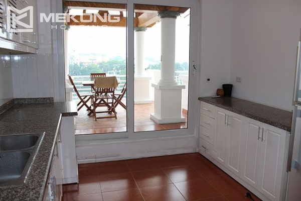 Spacious 2 bedroom apartment with Truc Bach lake view for rent 6