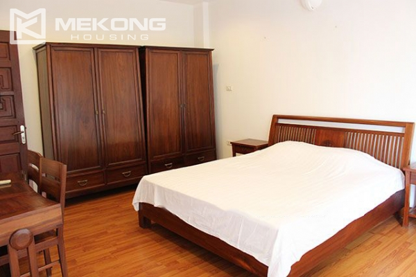 Spacious 2 bedroom apartment with Truc Bach lake view for rent 8