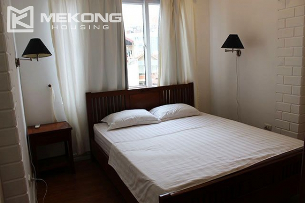 Spacious 2 bedroom apartment with Truc Bach lake view for rent 11