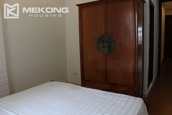 Spacious 2 bedroom apartment with Truc Bach lake view for rent 12
