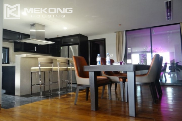 Spacious and fully furnished apartment with 3 bedrooms for rent in Hoan Kiem district, Hanoi 2