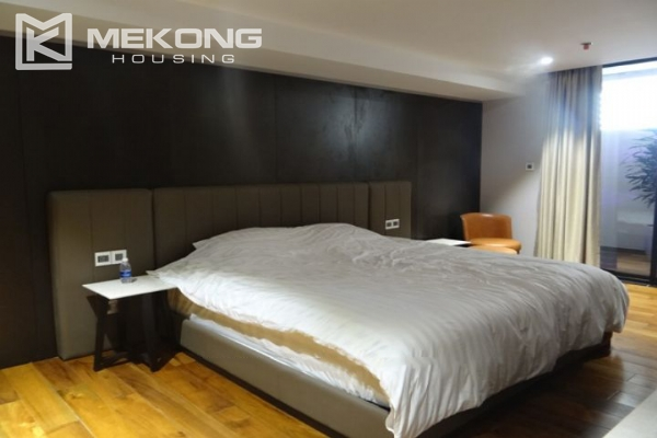 Spacious and fully furnished apartment with 3 bedrooms for rent in Hoan Kiem district, Hanoi 12