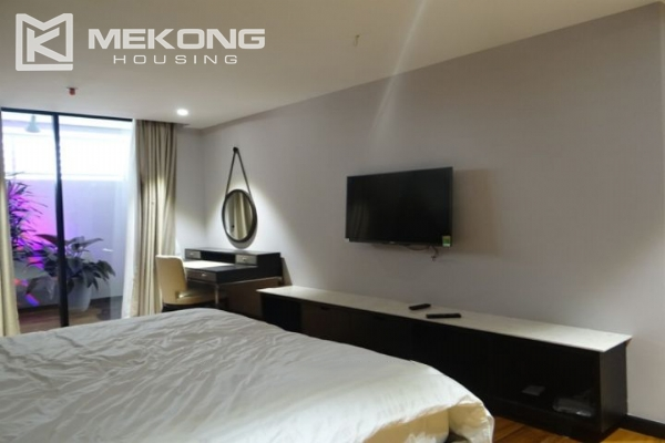Spacious and fully furnished apartment with 3 bedrooms for rent in Hoan Kiem district, Hanoi 13