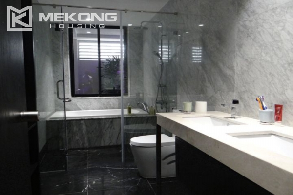 Spacious and fully furnished apartment with 3 bedrooms for rent in Hoan Kiem district, Hanoi 16