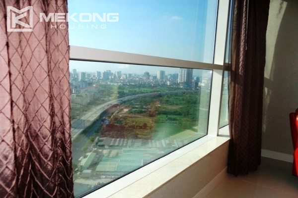 Spacious and modern furnished apartment with 3 bedrooms for rent in Keangnam Hanoi Tower 2