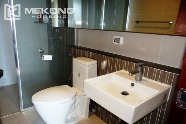Spacious and modern furnished apartment with 3 bedrooms for rent in Keangnam Hanoi Tower 9