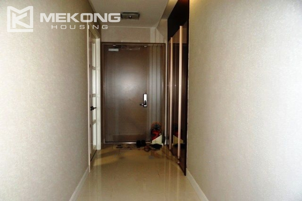 Spacious and modern furnished apartment with 3 bedrooms for rent in Keangnam Hanoi Tower 17