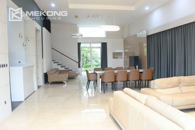 Spacious and modern villa with 5 bedrooms for rent in Q block Ciputra Hanoi 1