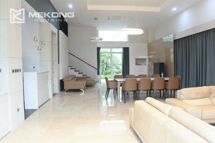 Spacious and modern villa with 5 bedrooms for rent in Q block Ciputra Hanoi 2