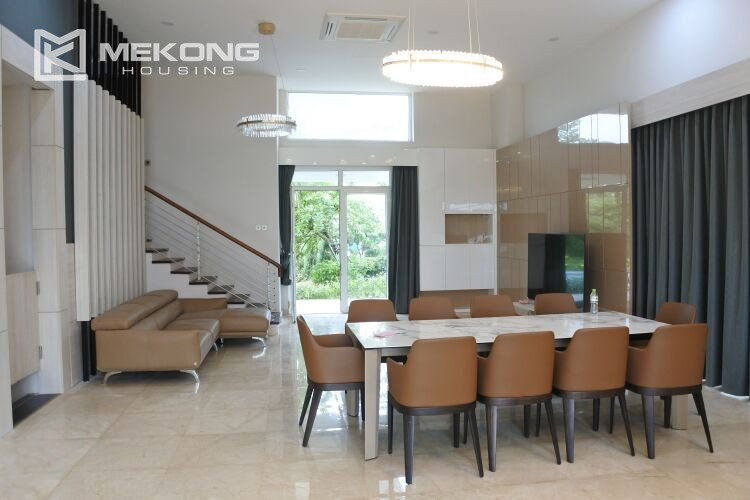 Spacious and modern villa with 5 bedrooms for rent in Q block Ciputra Hanoi 3
