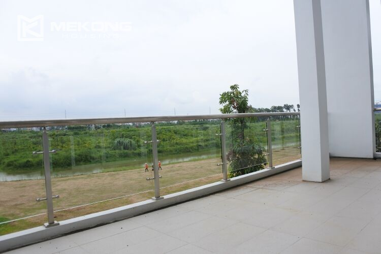 Spacious and modern villa with 5 bedrooms for rent in Q block Ciputra Hanoi 12