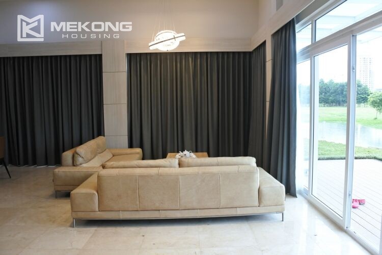Spacious and modern villa with 5 bedrooms for rent in Q block Ciputra Hanoi 8