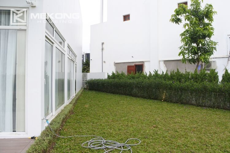 Spacious and modern villa with 5 bedrooms for rent in Q block Ciputra Hanoi 19
