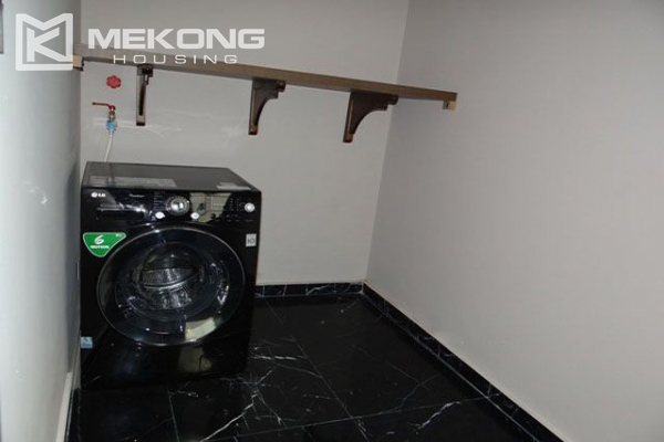 Spacious and modernly furnished apartment with 3 bedrooms for rent in Hoan Kiem district, Hanoi 13