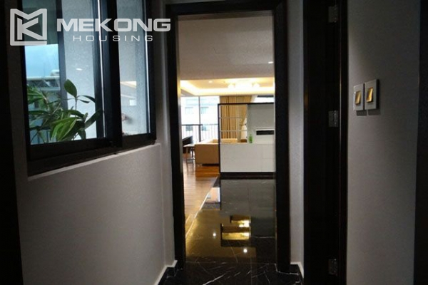 Spacious and modernly furnished apartment with 3 bedrooms for rent in Hoan Kiem district, Hanoi 14