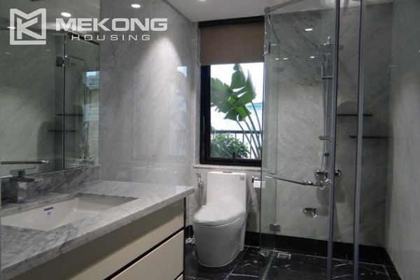 Spacious and modernly furnished apartment with 3 bedrooms for rent in Hoan Kiem district, Hanoi 10