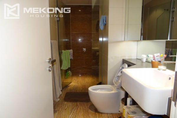 Spacious and well designed apartment with 3 bedrooms for rent in Indochina Plaza Hanoi 10