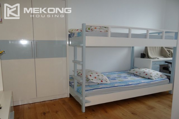 Spacious and well designed apartment with 3 bedrooms for rent in Indochina Plaza Hanoi 9