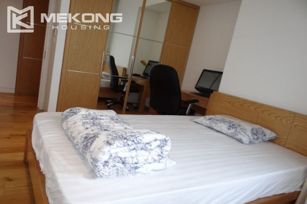 Spacious and well designed apartment with 3 bedrooms for rent in Indochina Plaza Hanoi 12