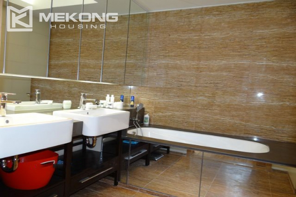 Spacious and well designed apartment with 3 bedrooms for rent in Indochina Plaza Hanoi 15