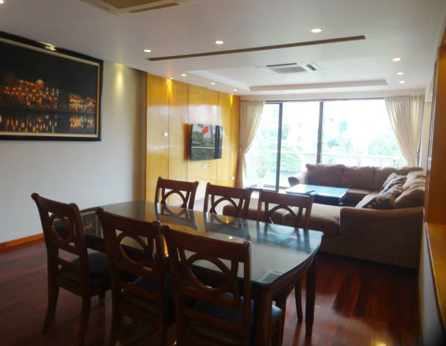 3 bedroom apartment in Yen Phu street, Tay Ho, modern furniture