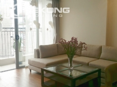 Spacious apartment with 3 bedrooms and modern furniture in Vinhomes Nguyen Chi Thanh