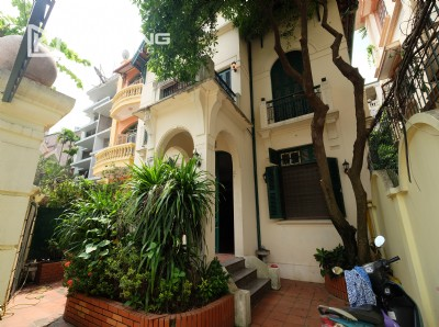Spacious house in To Ngoc Van with French style for rent