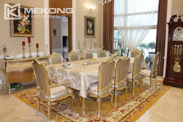 Spacious penthouse with luxury furniture for rent in Keangnam Landmark Hanoi 5