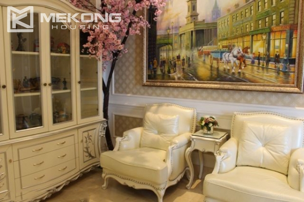 Spacious penthouse with luxury furniture for rent in Keangnam Landmark Hanoi 17