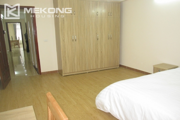 Spacious serviced apartment with 1 bedroom for rent in Van Cao street, Ba Dinh 8