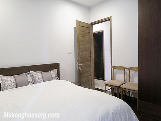 Spacious serviced apartment with 4 bedrooms, large balcony and lake view in Xom Chua, Tay Ho 12