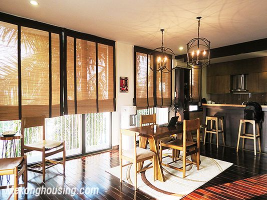 Spacious serviced apartment with 4 bedrooms, large balcony and lake view in Xom Chua, Tay Ho 7