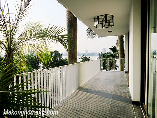 Spacious serviced apartment with 4 bedrooms, large balcony and lake view in Xom Chua, Tay Ho 19
