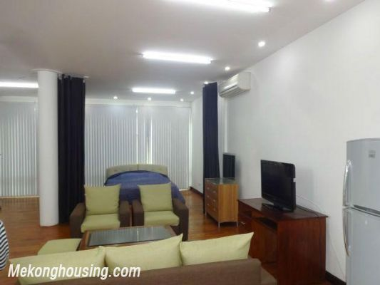 Spacious studio apartment for rent in Dang Thai Mai street, Tay Ho district, Hanoi 3