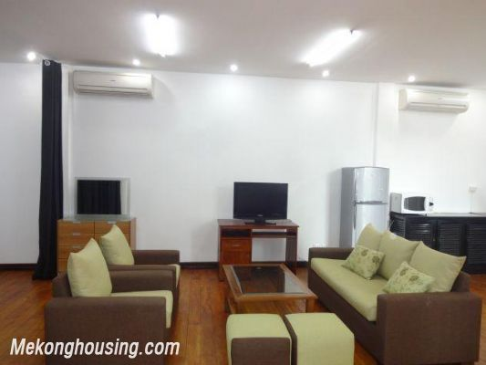 Spacious studio apartment for rent in Dang Thai Mai street, Tay Ho district, Hanoi 4